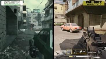 Сравнение классических карт в CoD: Mobile и старых частях Call of Duty
