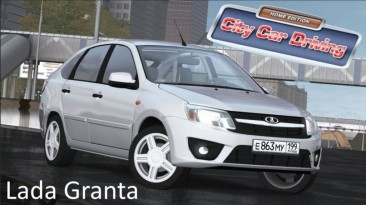 "City Car Driving ""Lada Granta (v1.5.9 - 1.5.9.2)"""