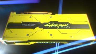 Nvidia представила видеокарту в стилистике Cyberpunk 2077