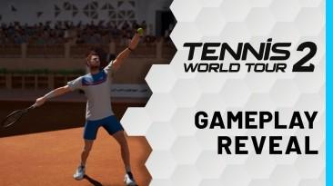 NACON анонсировала Tennis World Tour 2, первый геймплейный ролик
