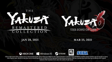 Yakuza Remastered Collection и Yakuza 6:The Song Of Life официально анонсированы для ПК