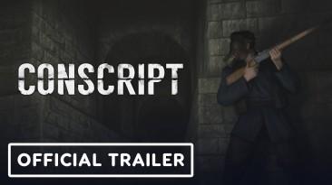 Расширенный геймплейный трейлер CONSCRIPT: новый взгляд на классический survival horror