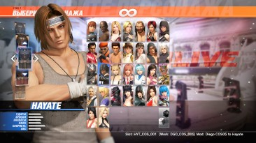 "Dead or Alive 6 ""More Costumes for Hayate"""