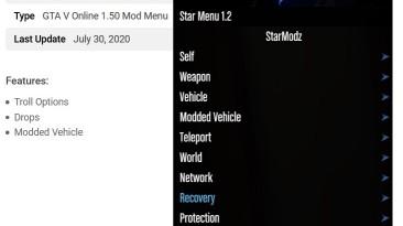 Grand Theft Auto 5 (GTA V): Чит-Мод/Cheat-Mode (Star v1.2) [1.50] {starmodz}