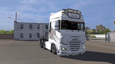 "Euro Truck Simulator 2 ""Грузовик Turkish DAF Euro 6 v1.0 (v1.39.x)"""
