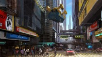 Cyberpunk 2077 - представление района Сити Центр в Найт-Сити