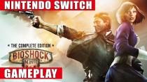 Геймплей сборника BioShock: The Collection для Nintendo Switch