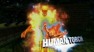 Marvel: Ultimate Alliance Character - Human Torch