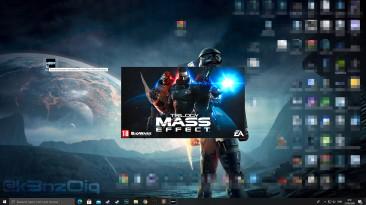 "Mass Effect ""HD ремастер splash logo"""