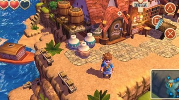 Приключенческая игра Oceanhorn - Monster of Uncharted Seas вышла для PlayStation Vita