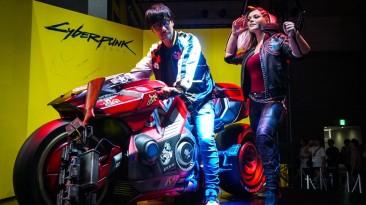Хидео Кодзима посетил стенд Cyberpunk 2077 на Tokyo Game Show 2019