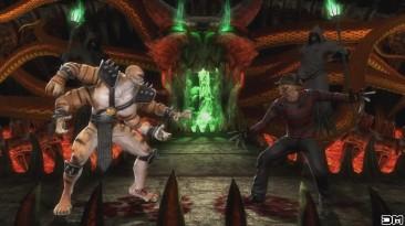 Mortal Kombat IX Freddy Krueger Performs All Character Intros