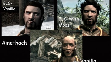 """Skyrim """"Better Looking Guys - Male Human Spouses"""""""