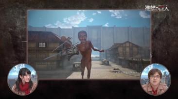 15 минут игрового процесса Attack on Titan на PS4.