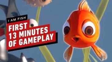 Первые 13 минут геймплея очаровательной игры про рыбок I Am Fish