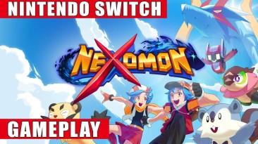 Запись игрового процесса Switch-версии Nexomon