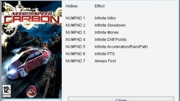 Need for Speed - Carbon: Трейнер/Trainer (+7) [1.2] {24K/PlayGround.ru}