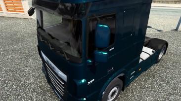 "Euro Truck Simulator 2 ""Дефлекторы на боковые окна для DAF XF Euro 6 (1.41.х)"""
