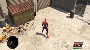 "Spider-Man: Web of Shadows ""Fix текстуры мусора"""