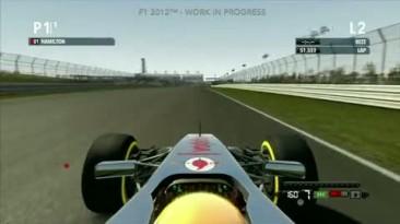 """F1 2012  """"Геймплей трасса Остин(США)"""""""