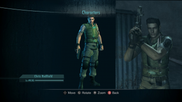 """Resident Evil: Revelations """"Крис из resident evil remake"""""""