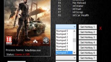 Mad Max: Трейнер/Trainer (+7) [1.0.3.1: Steam] {MrAntiFun}
