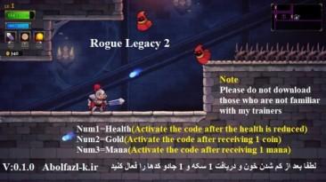 Rogue Legacy 2: Трейнер/Trainer (+3) [0.1.0] {Abolfazl.k}