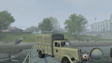 "Mafia 2 ""Исторические Sd Kfz 251 and OpelBlitz."""