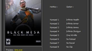 Black Mesa: Трейнер/Trainer (+8) [0.1.1] {Enjoy/ETR}