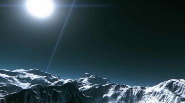 Star Citizen: Атмосферный таймлэпс луны Йела