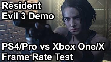 Сравнение производительности демо-версии ремейка Resident Evil 3 на консолях