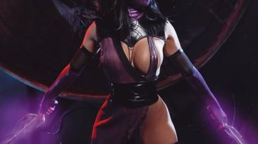 Косплей на Милину из Mortal Kombat