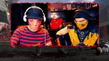 Freddy Krueger Plays - Mortal Kombat 9 Komplete Edition Ladder (Gameplay W/ Scorpion) | MK PARODY