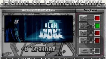 Alan Wake: Трейнер/Trainer (+8) [1.06.17.0155: Steam Version] {iNvIcTUs oRCuS / HoG}