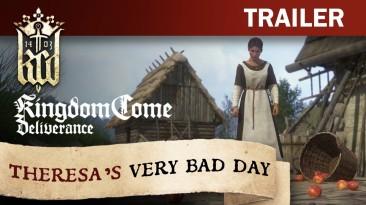 """Новый трейлер Kingdom Come: Deliverance под названием """"Плохой день Терезы"""""""