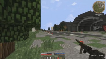 Люди зомби руки вверх - Minecraft DayZ