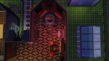 """The Sims 4 """"Домик для вампира"""""""