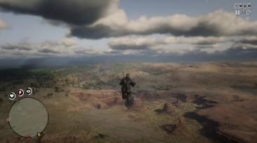 В Red Dead Online нашли мост-катапульту, отправляющий игроков в полет