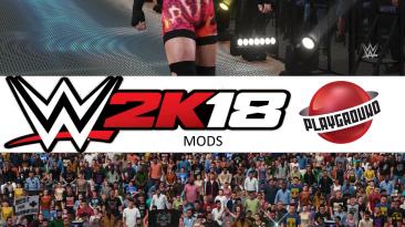 """WWE 2K18 """"Rob Van Dam + 9 Attire Pack MOD"""""""