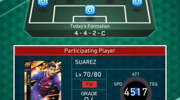 Доступна мобильная карточная игра по футбольному симулятору PES