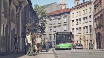 Анонсирующий трейлер симулятора водителя автобуса SimBus