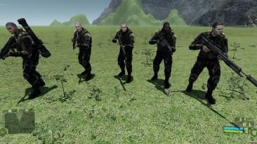 "Crysis ""Мод на союзников"""