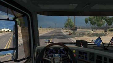 "American Truck Simulator ""Volvo VNL670 Dashboard fixed"""