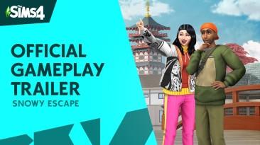 Новый геймплейный трейлер предстоящего зимнего расширения для Sims 4