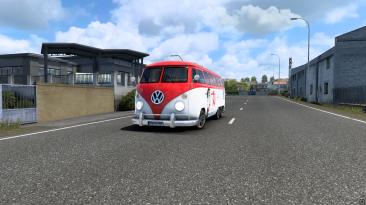 "Euro Truck Simulator 2 ""Микроавтобус VW Combi v1.1 (1.41.х)"""