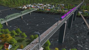 Cities: Skylines предлагает новые мосты, вокзалы и радио