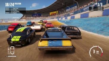 Wreckfest - Геймплей на Xbox One X