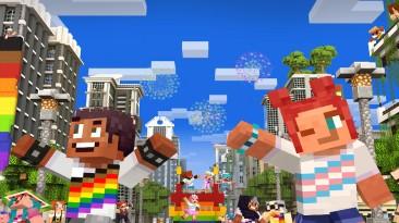 Создатели Minecraft будут бороться с расизмом и социальным неравенством