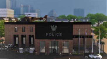 "The Sims 4 "" Полицейский участок"""