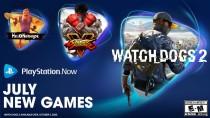 Линейку игр PS Now в июле пополнят Watch Dogs 2, Street Fighter V и Hello Neighbor